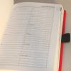 Dauerkalender Red Chain mit Namensprägung