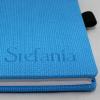 Kalender im Taschenformat Blue Chain mit Namensprägung