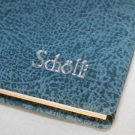 Kalender im Taschenformat Peluche mit Namensprägung