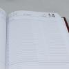 Taschenkalender DIN A5 aus Kunstleder in vielen Farben