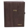 Taschenkalender Rustico in DIN A5 mit goldener Namensprägung