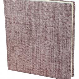 Fotoalbum Blake Groß in Altrosé – handgefertigtes Fotoalbum im roséfarbenen Stoffeinband mit 100 Seiten