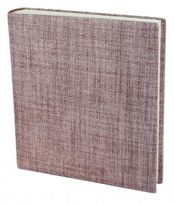 Fotoalbum Blake in Altrosé – handgefertigtes Fotoalbum im roséfarbenen Stoffeinband mit 100 Seiten