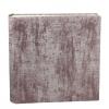 Fotoalbum Anik in Rosé – Stoffeinband aus Baumwolle mit Glanzeffekt aus rosé und silbergrau melierter Webung