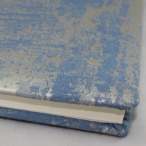 Gästebuch Anik quer in Blau