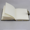 Tagebuch Swing in Grün mit Schloss – abschließbares grünes Tagebuch im Stoffeinband mit 224 blanko Seiten