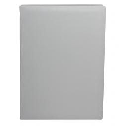 Unterschriftenmappe aus glattem Vollrindleder in Weiß – weiße Leder Signaturmappe