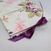 Foto-Gästebuch Milla mit Blumenstickereien