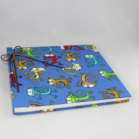 Kinderalbum Gecko mit Kordelbindung M