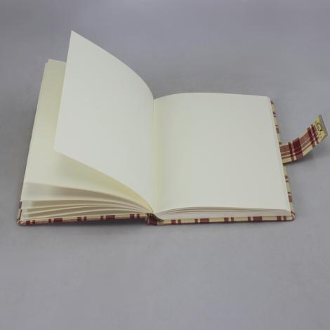 Tagebuch mit Schloss im Anne Frank Stil