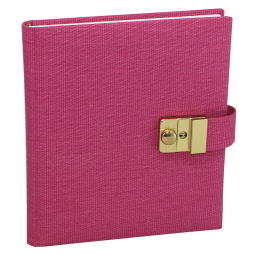 Tagebuch mit Schloss Candy in Pink