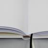 Gästebuch Multicolori hochkant in Weiß