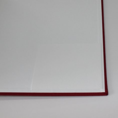 Fotoalbum Fiori mit Kordelbindung L in Weinrot
