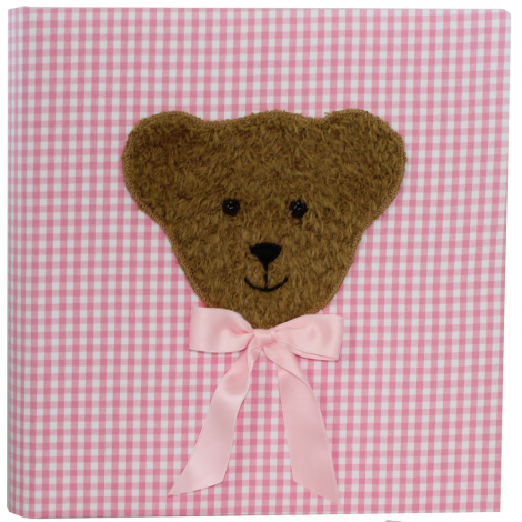 Kinderalbum Teddy Karo Groß in Rosa