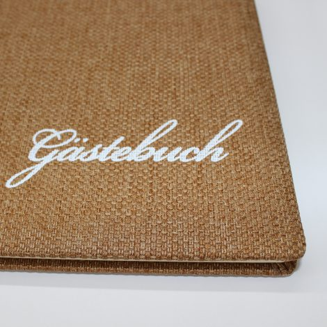Gästebuch Vintage Rustico