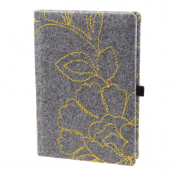 Taschenkalender Hapton DIN A5 in Grau