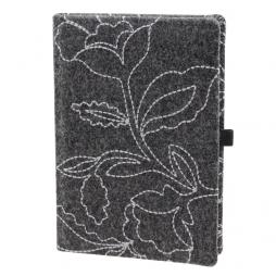 Taschenkalender Hapton DIN A5 in Schwarz