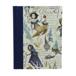 Notizbuch Schneewittchen mit Buchbinderleinen