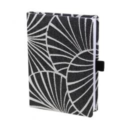 Taschenkalender Emilia DIN A6 in Schwarz