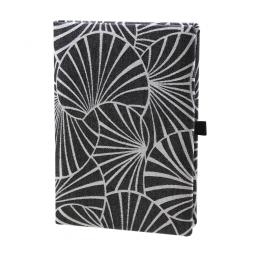 Taschenkalender Emilia DIN A5 in Schwarz