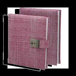 Poesiealbum und Tagebuch Nathan in Rot